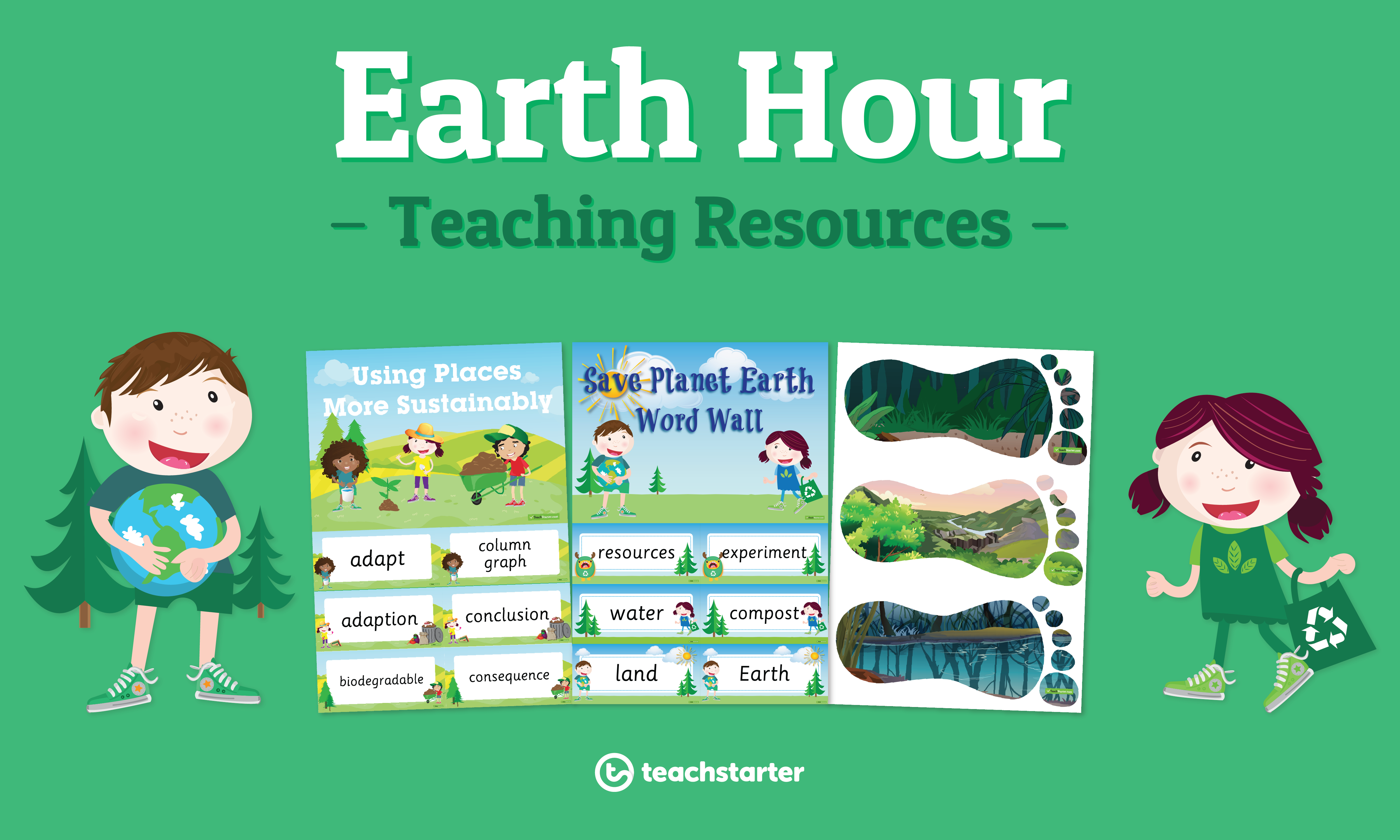 Earth Hour Classroom Activities and Teaching Resources