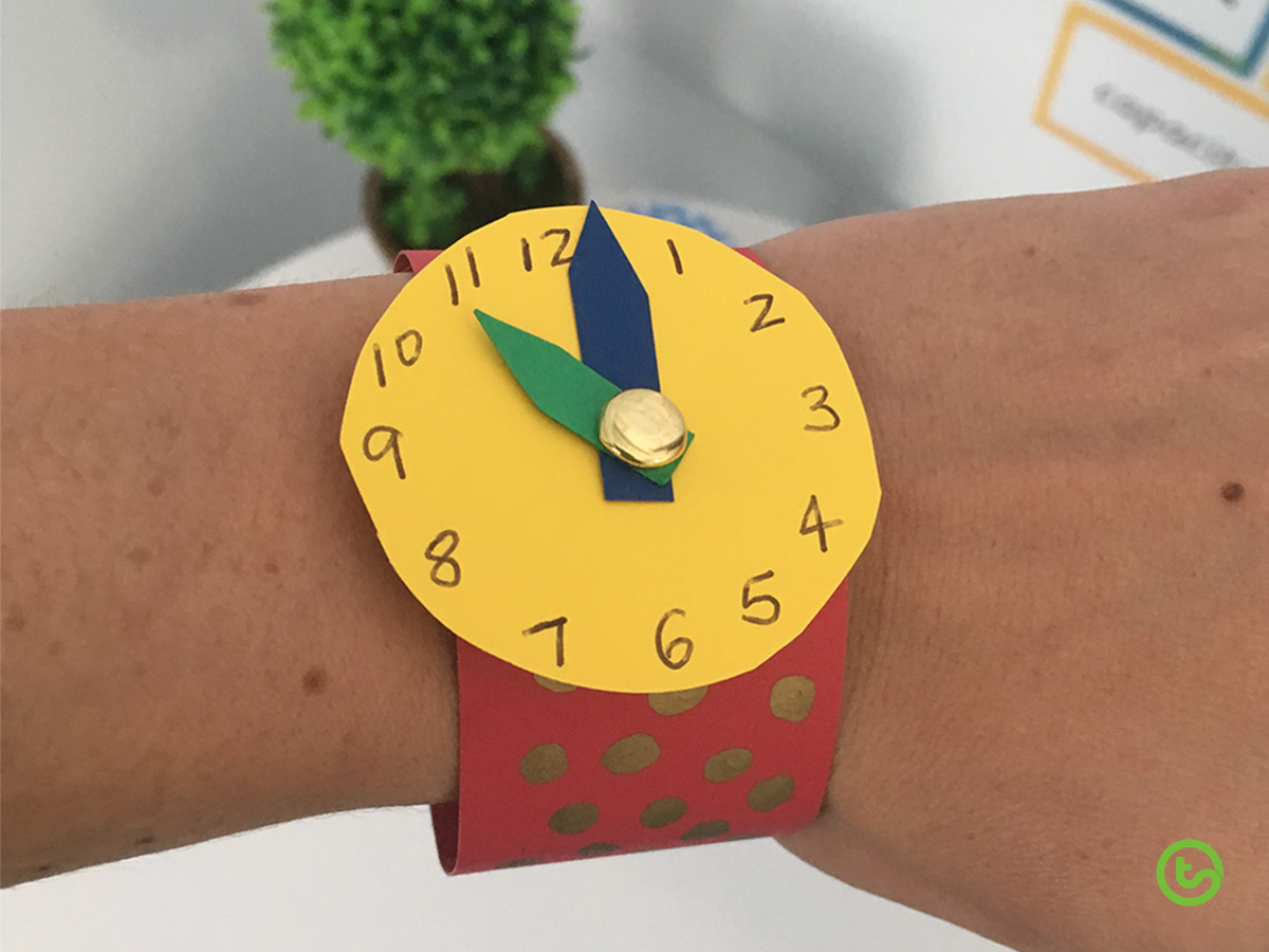Time Resources and Activities - Make a Paper Watch