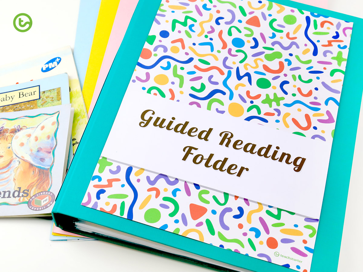 Guided Reading folder templates