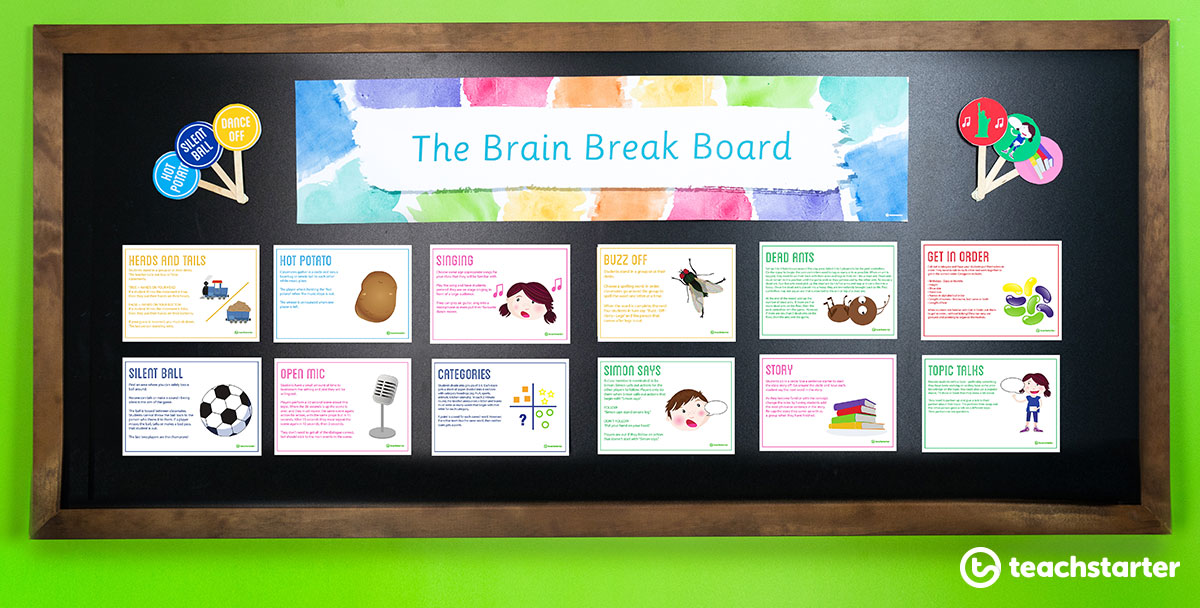 Brain Break Activity Ideas