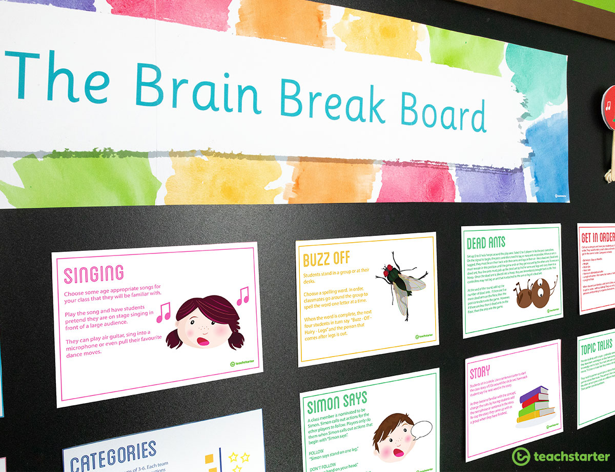 Brain Break Activities for the Classroom