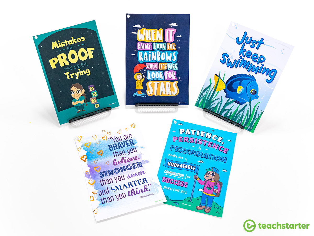 Positivity Posters for the Classroom
