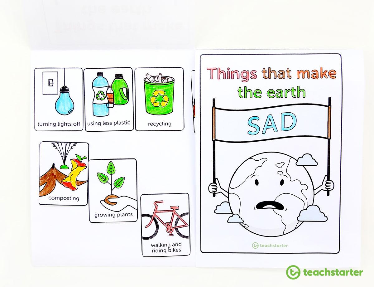 Environmental Awareness Flip Book