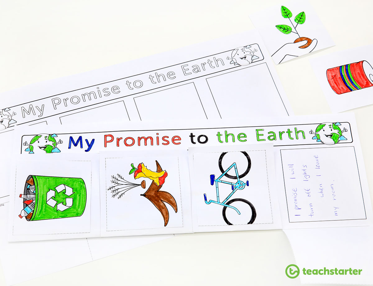 My Promise to the Earth Student Template
