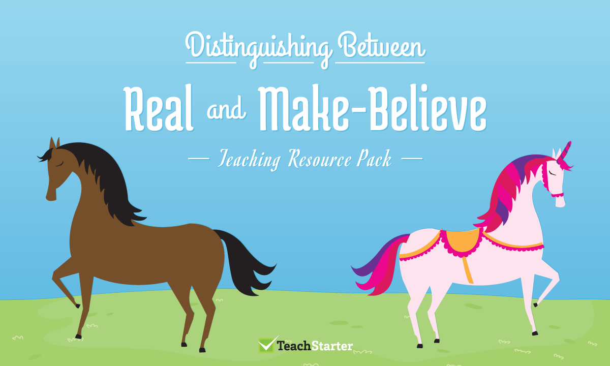 Real Or Make-Believe - Animal Picture Sorting Worksheet Teaching ...