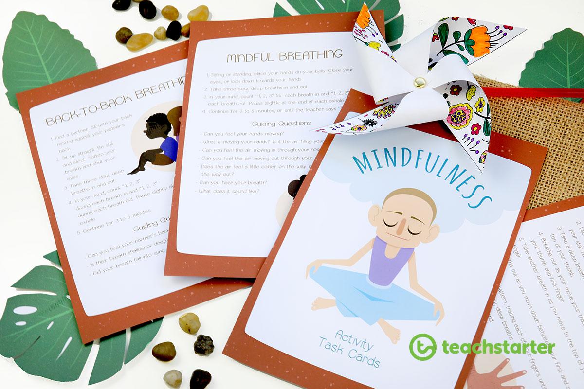 Mindfulness Activity Task Cards
