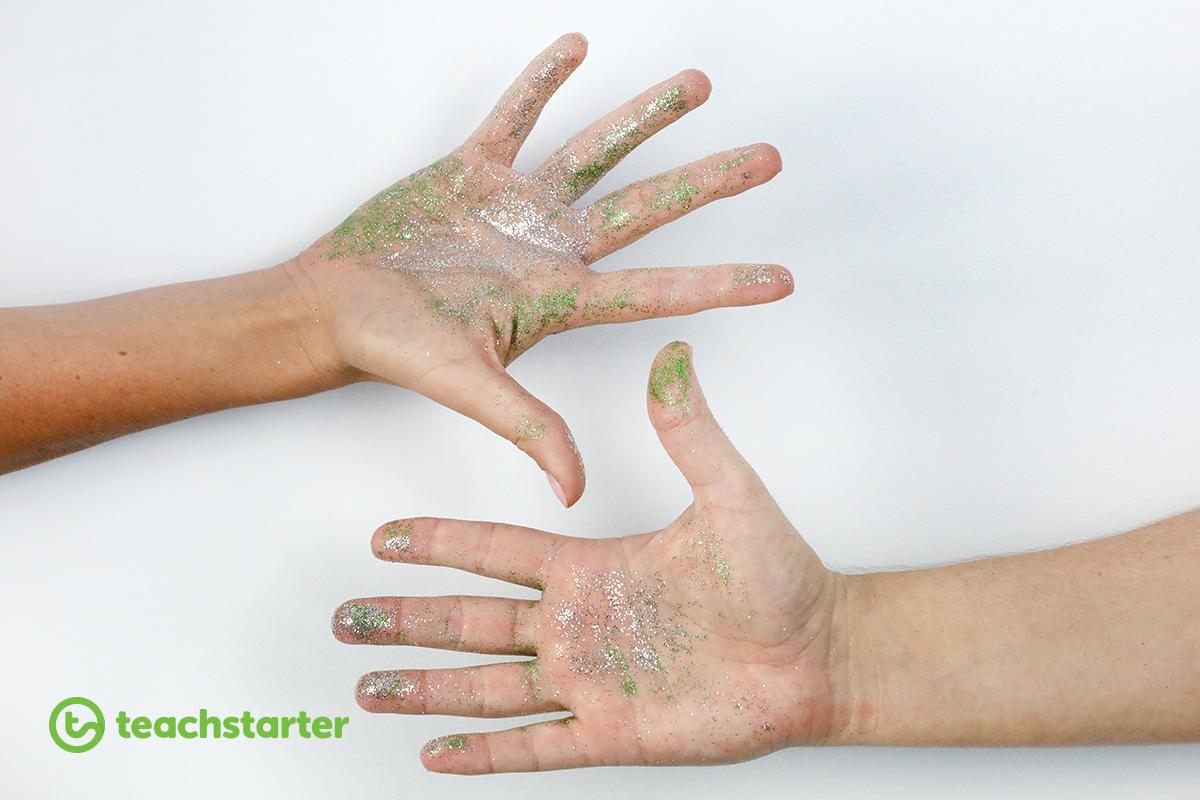 Glitter germ activity!