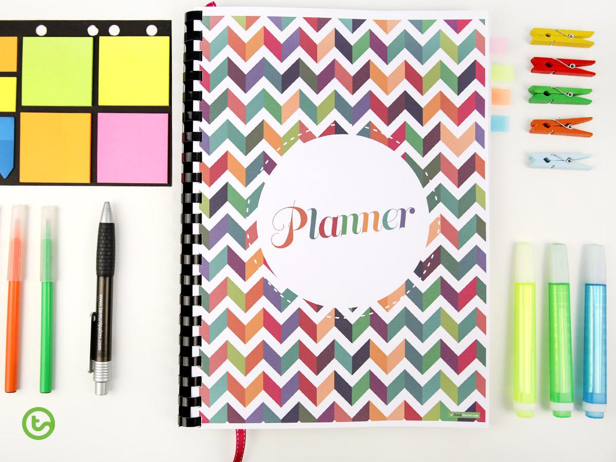 Teacher planner templates
