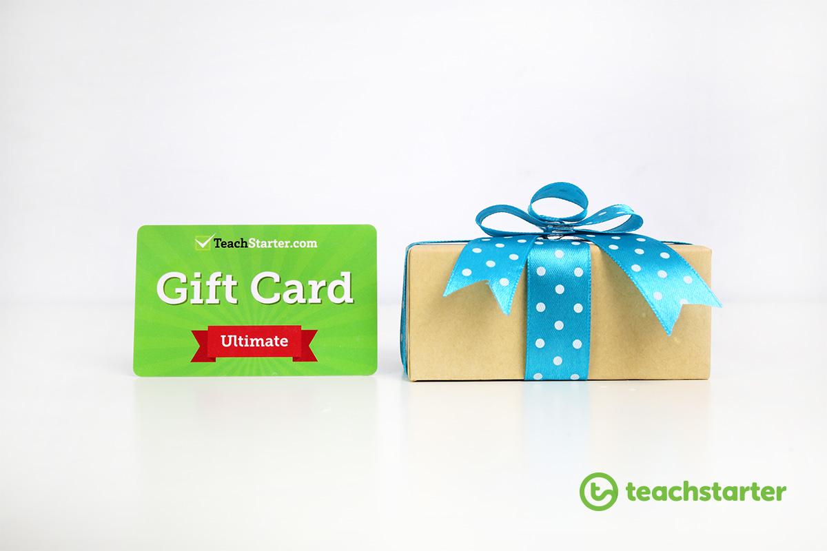 Teach Starter Gift Cards - Best Teacher Gift Ideas
