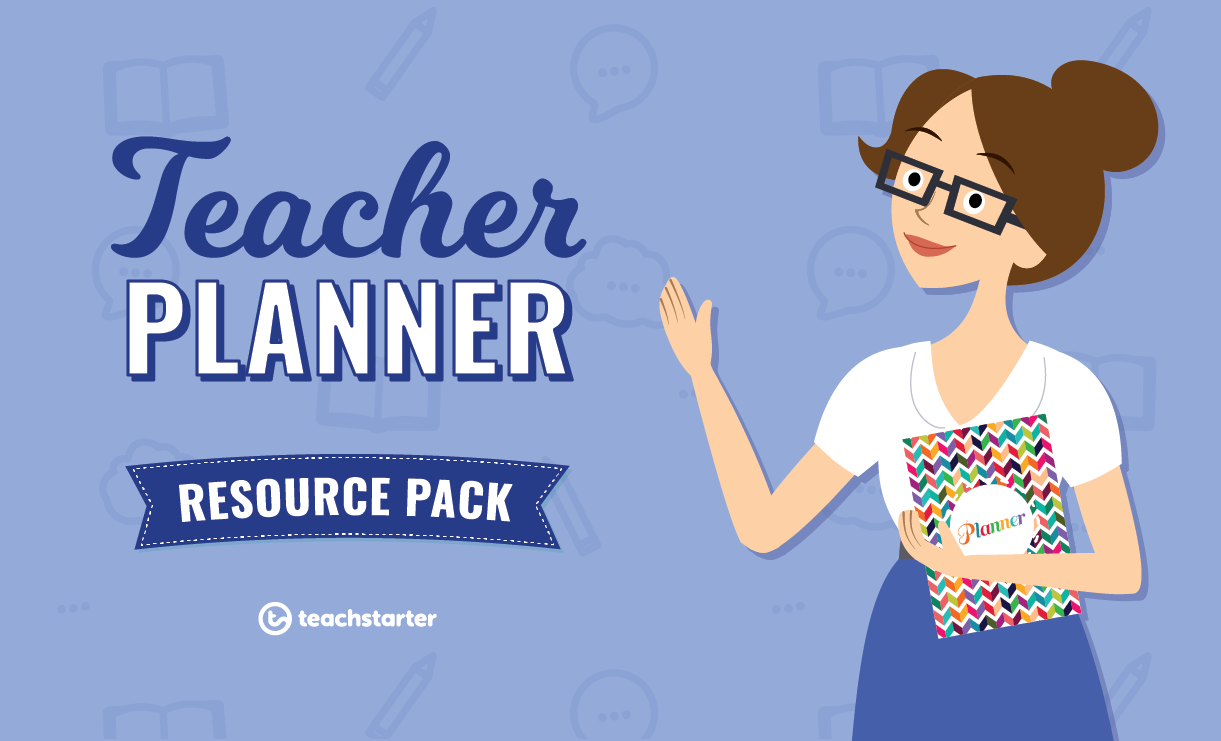 Downloadable Teacher Planners