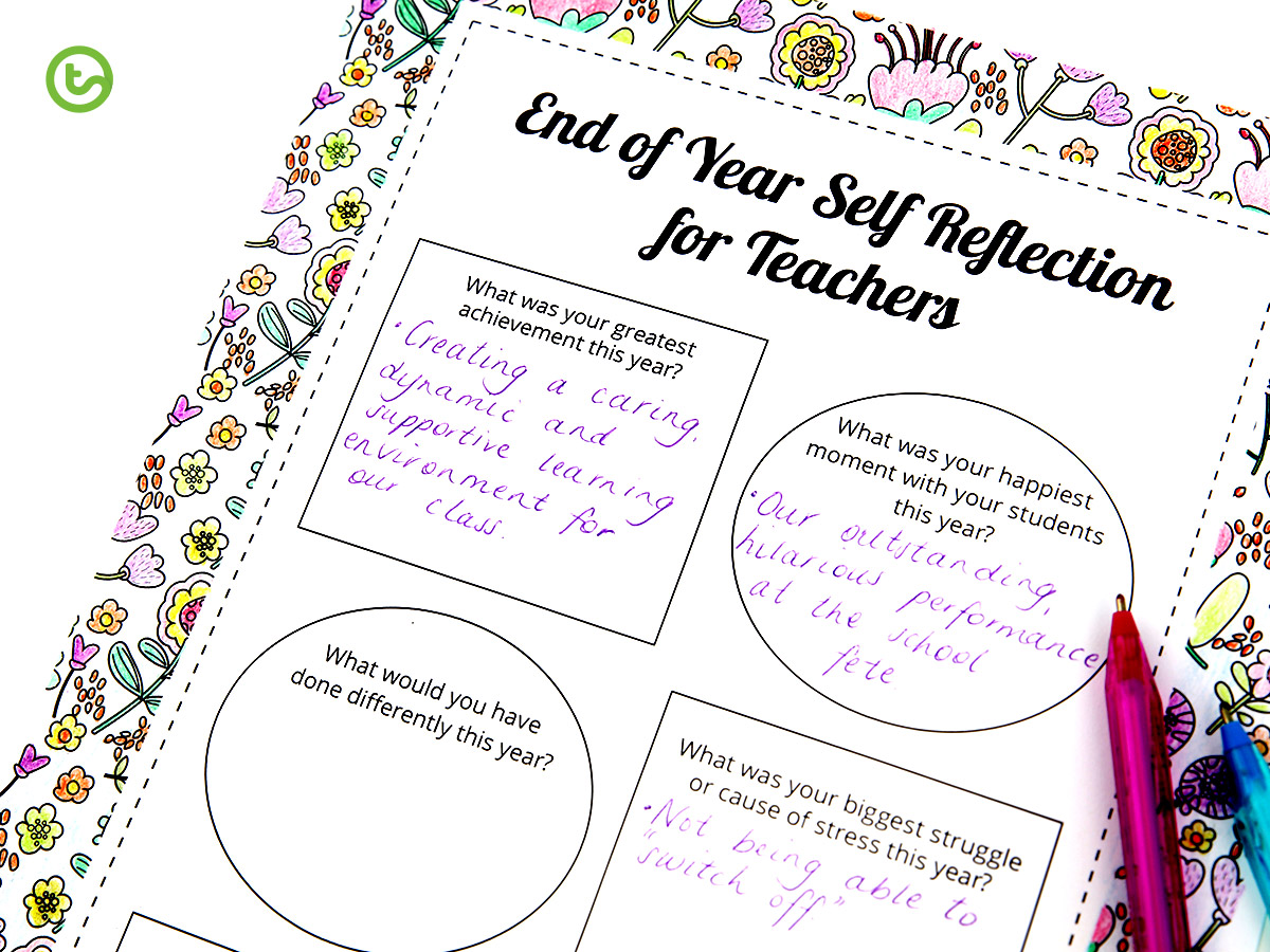 Mindful Self-Reflection for Teachers