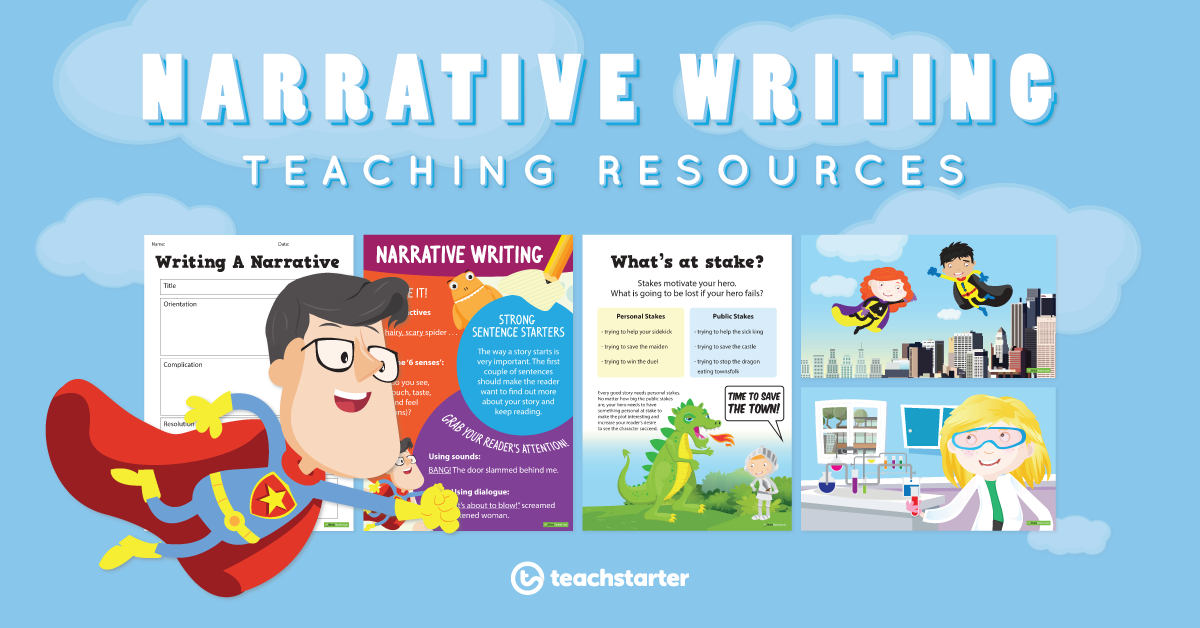 Narrative Writing Teaching Resources