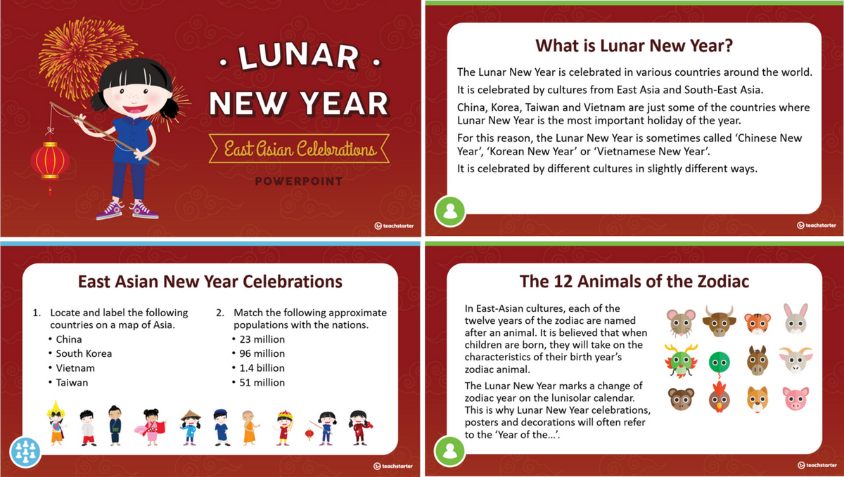 Free Lunar New Year Craft Activities for Kids Chinese New Year Students Year of the Pig