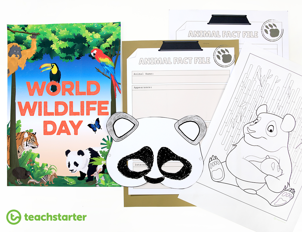 World Wildlife Day resources for the Classroom