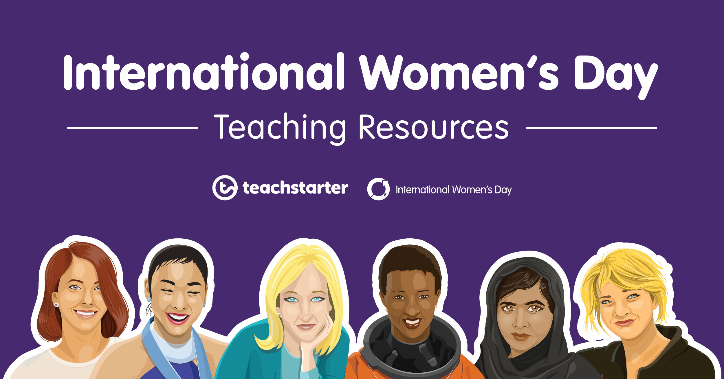 International Women's Day teaching resource collection