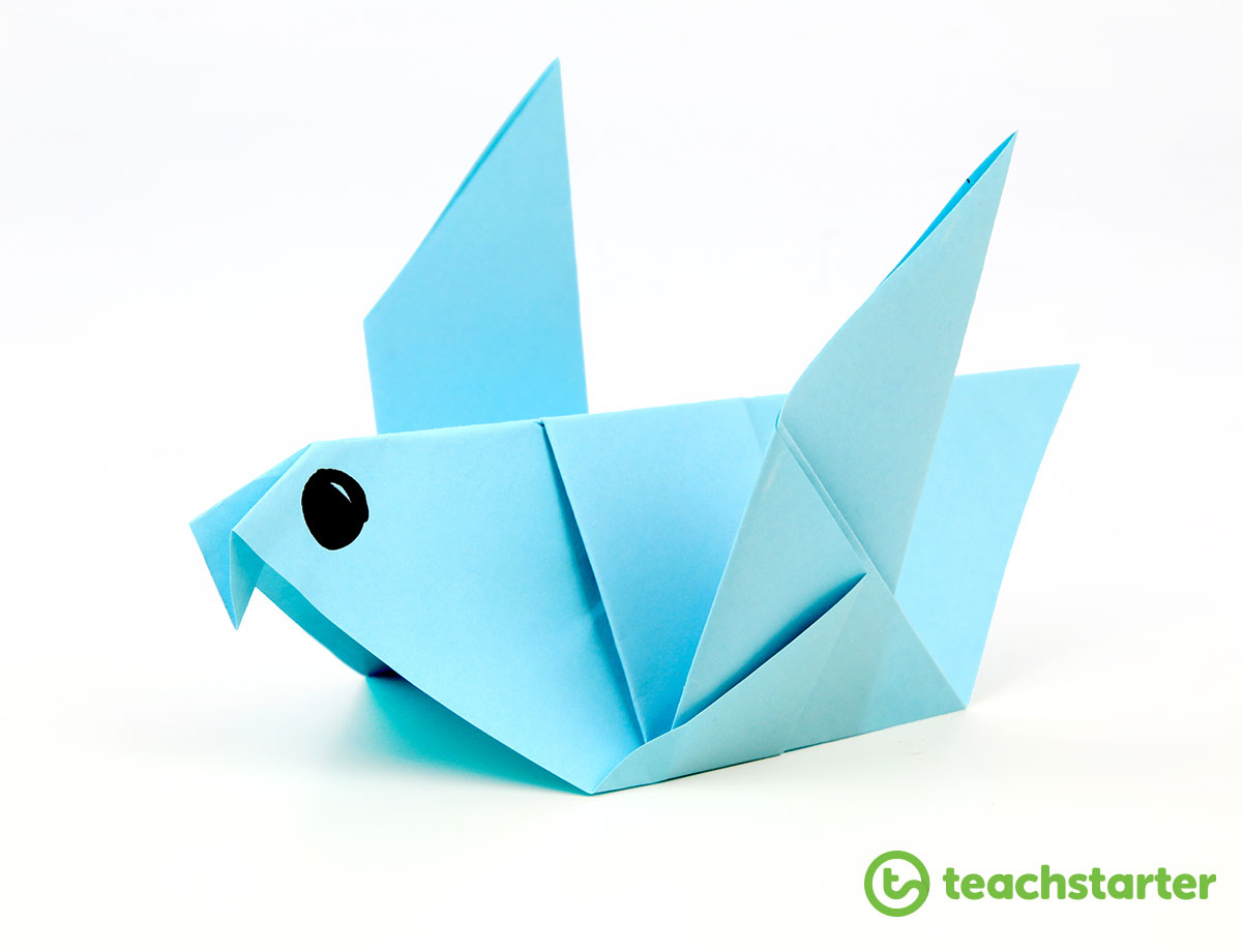 Download Print And Laminate Our Origami Bird Step By Instruction Page For Your Students To Follow