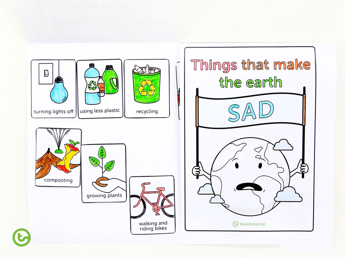 Earth Hour 2020 - Learn about things that make the Earth sad