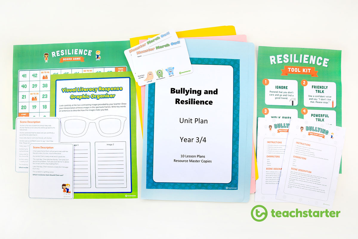 Bullying and Resilience Unit Plan