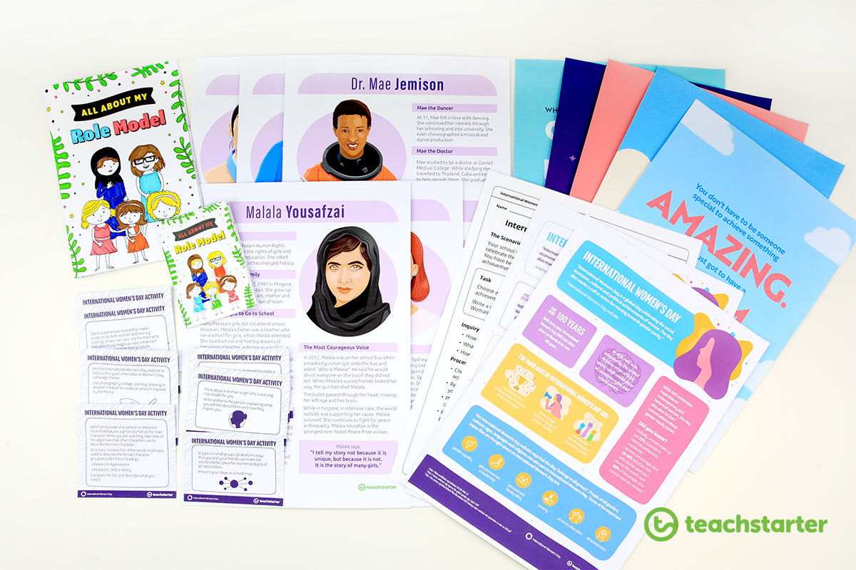 International Women's Day Free Printable Teaching Resources