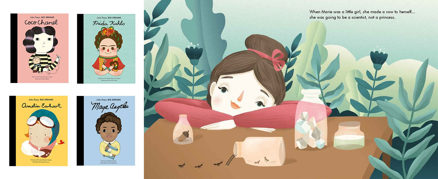 Little People, Big Dreams picture book series