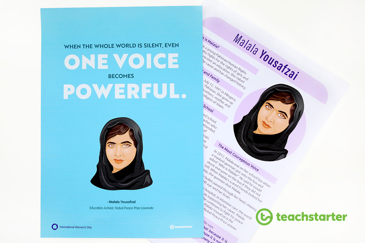 Malala Yousafzai Teaching Resources