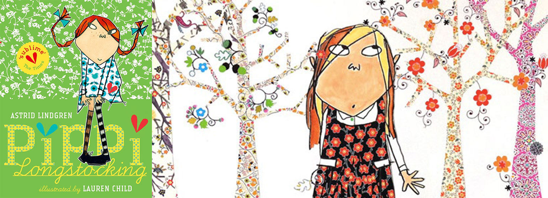 Pippi Longstocking illustrated by Lauren Child