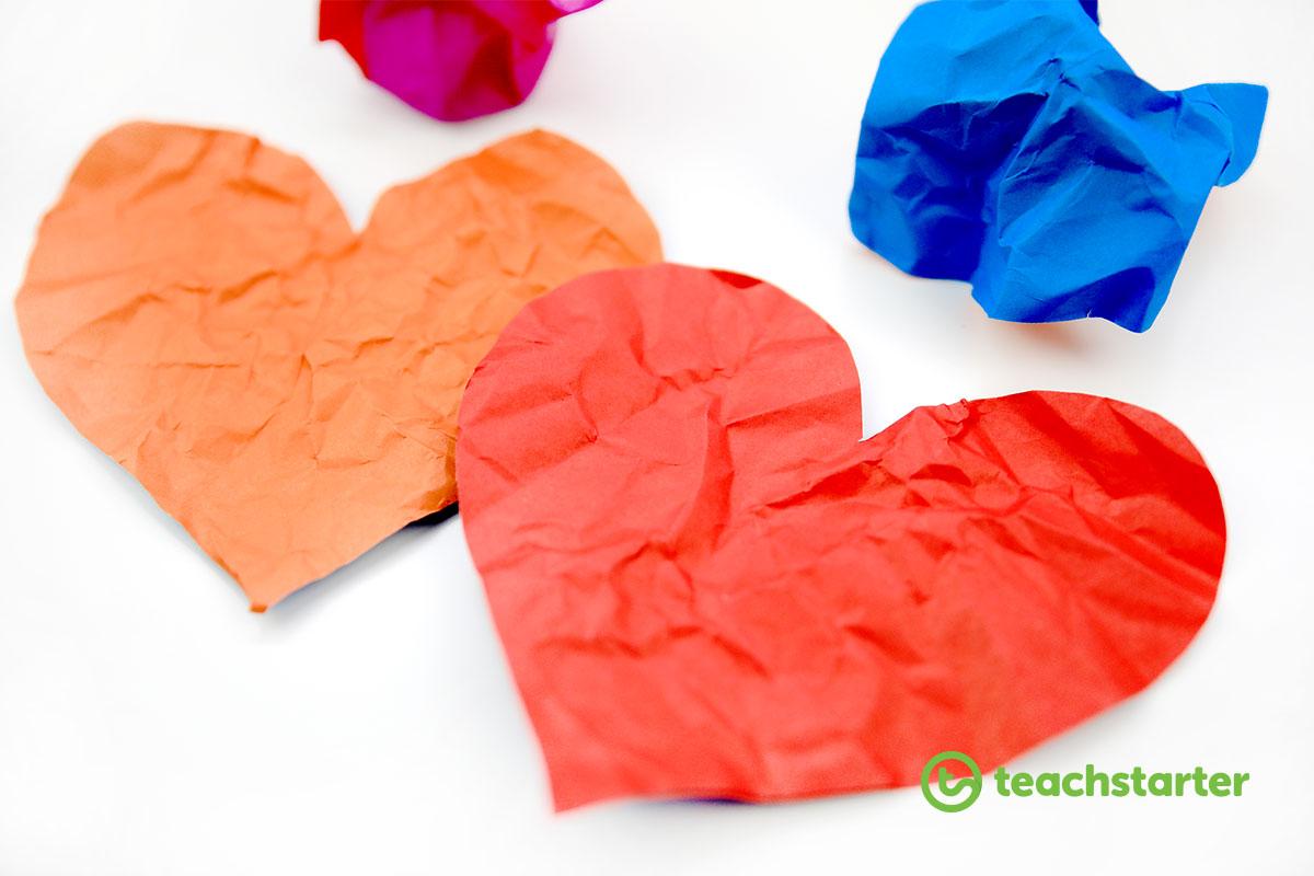 Wrinkled Heart Anti-Bullying Lesson