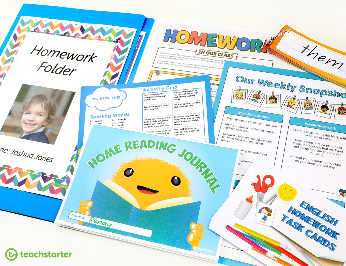 Homework Ideas for Primary Teachers