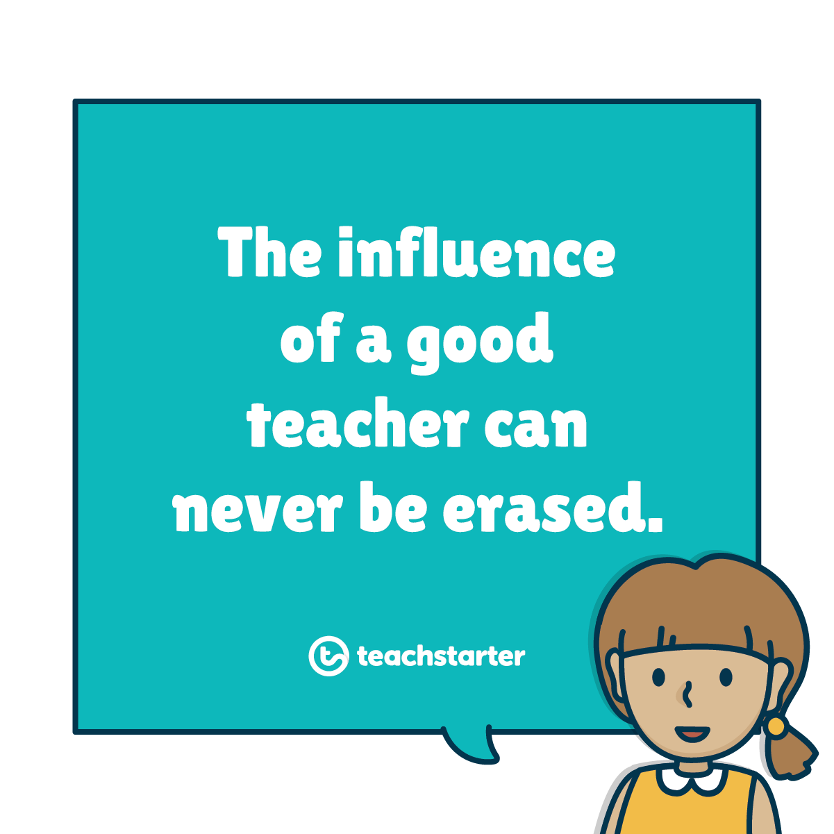 The impacts of bad teaching can be overcome with time patience and support a good teachers legacy is forever