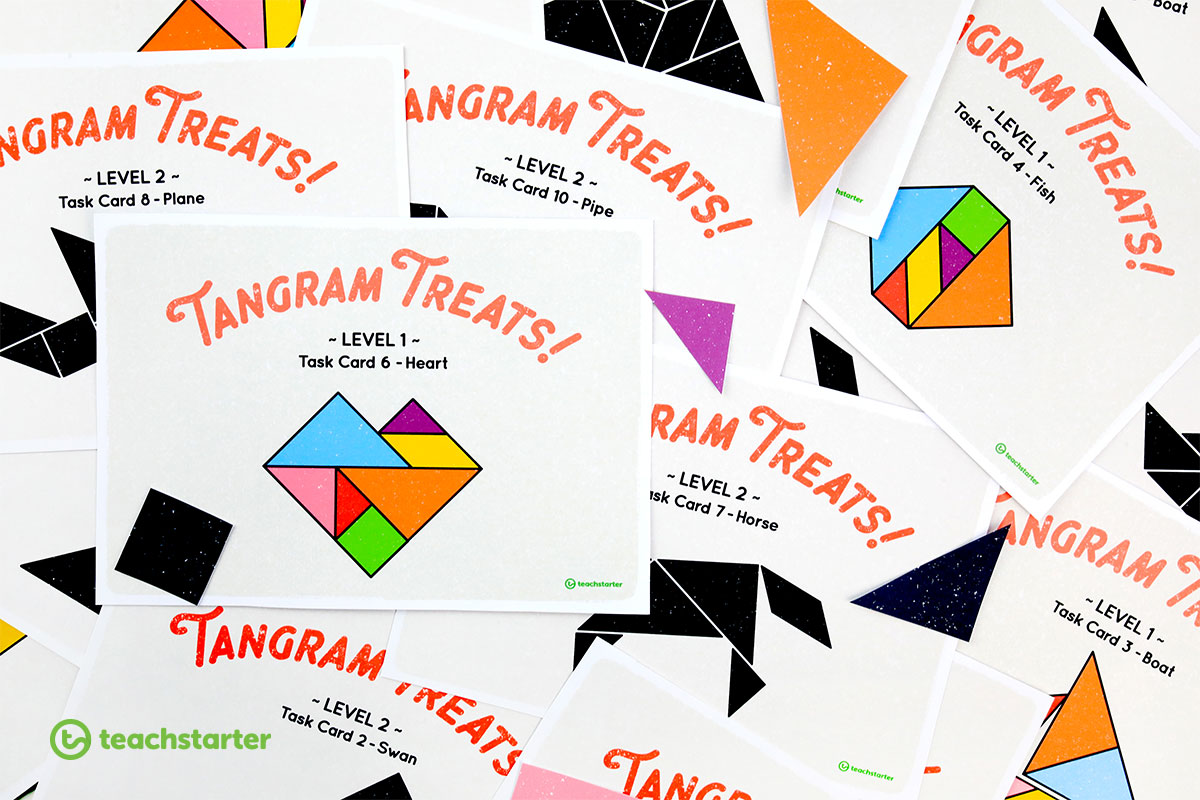 printable tangrams and task cards