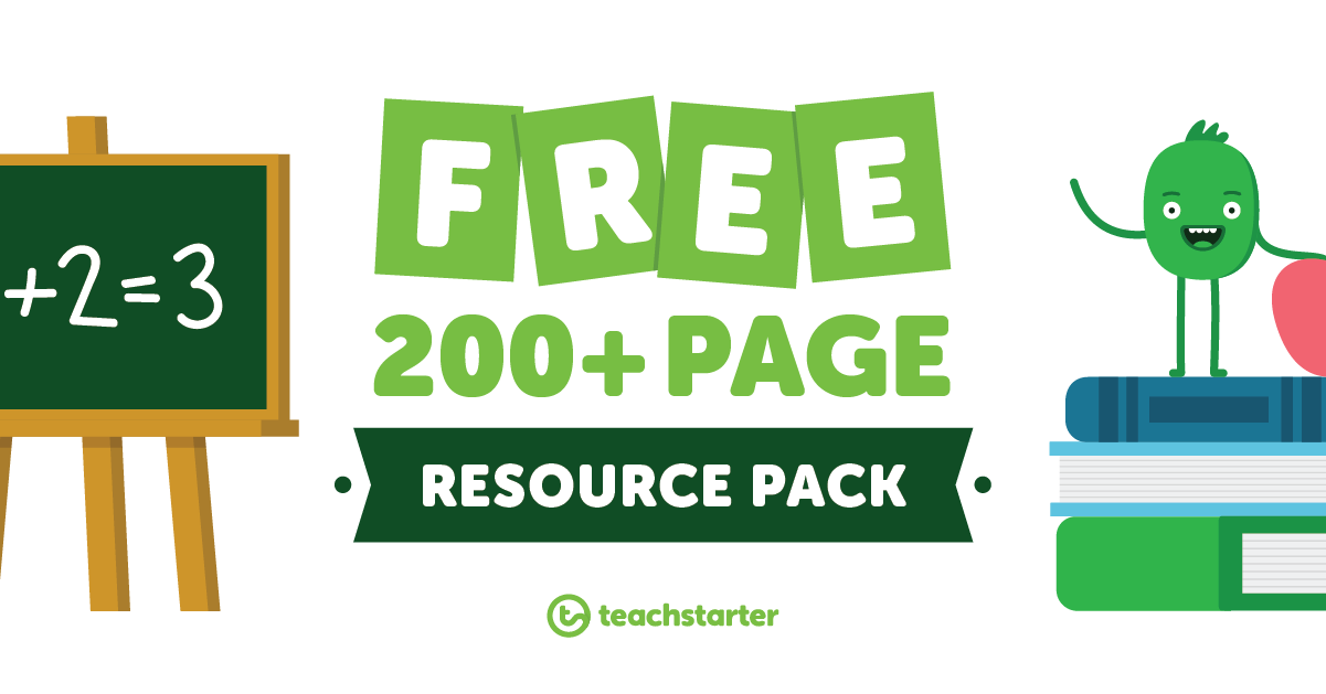 free teaching resource pack for primary teachers
