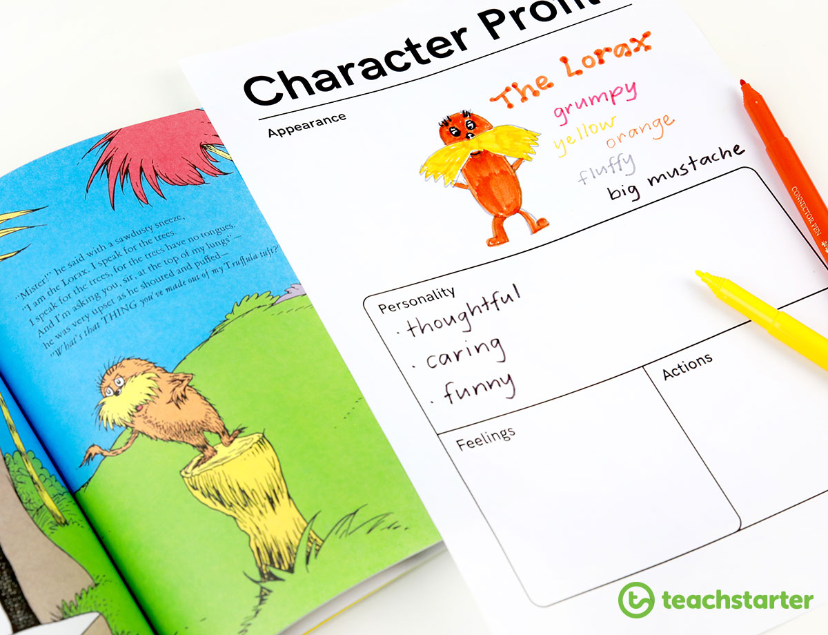 The Lorax Character Profile