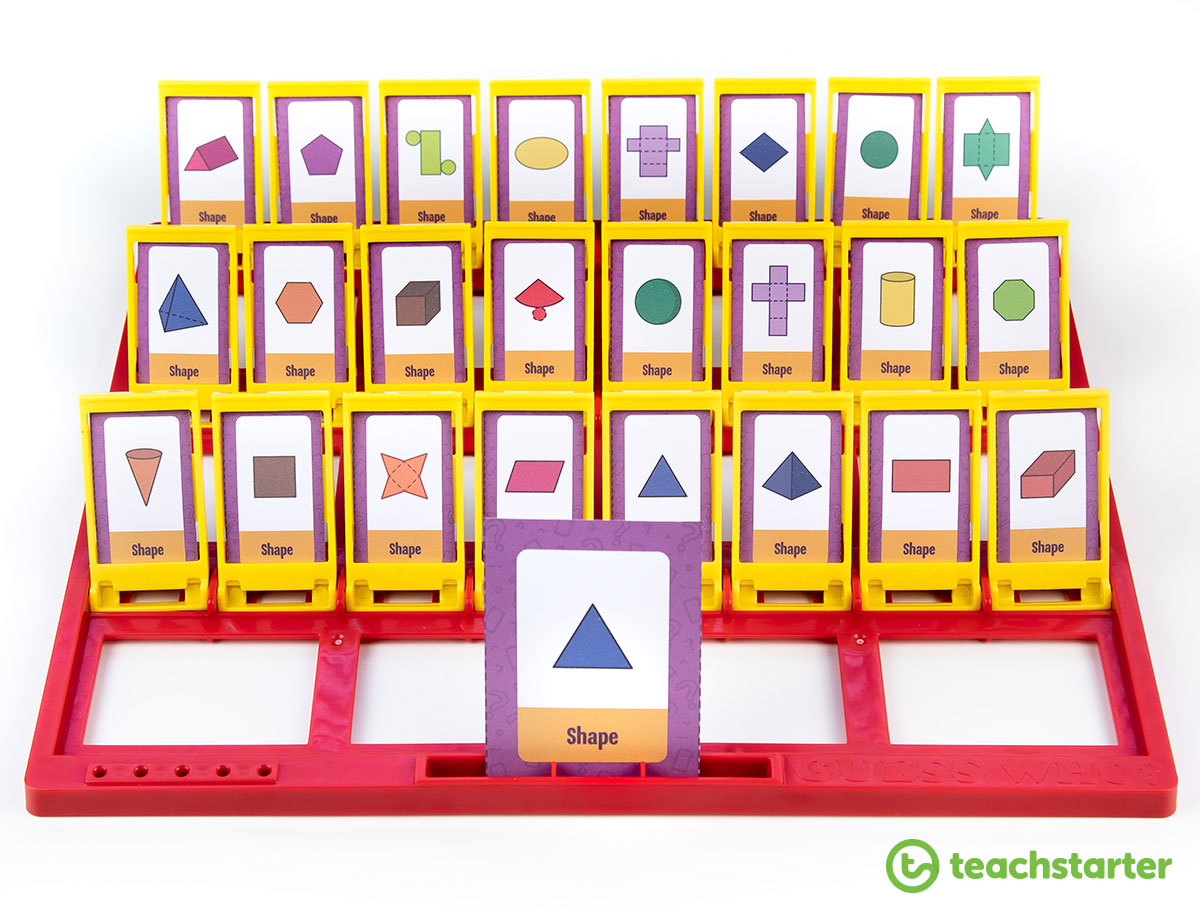 Printable Guess Who Game Templates For The Classroom