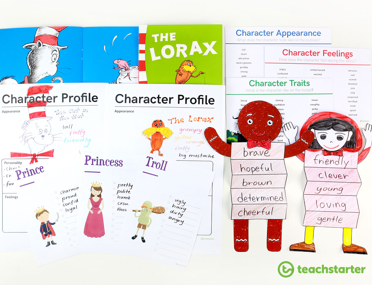 Book Character Activities