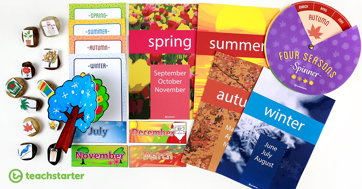 Seasons Activities for the Classroom