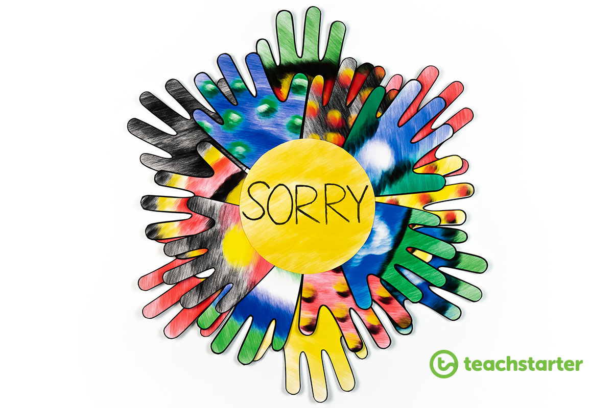 Sorry Day Reconciliation Art Activity