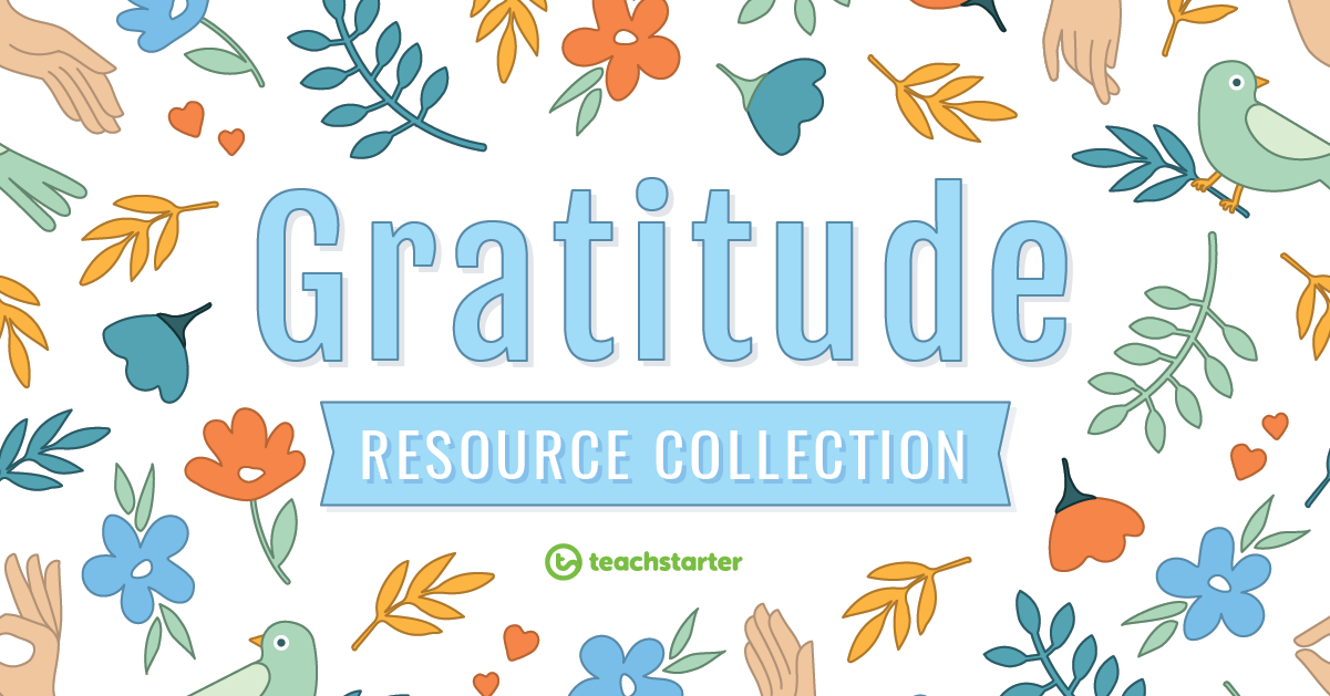 gratitude teaching resources collection