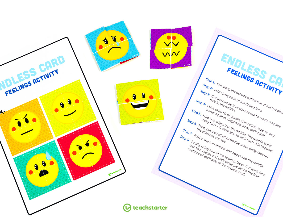 Feelings Activity for the Classroom