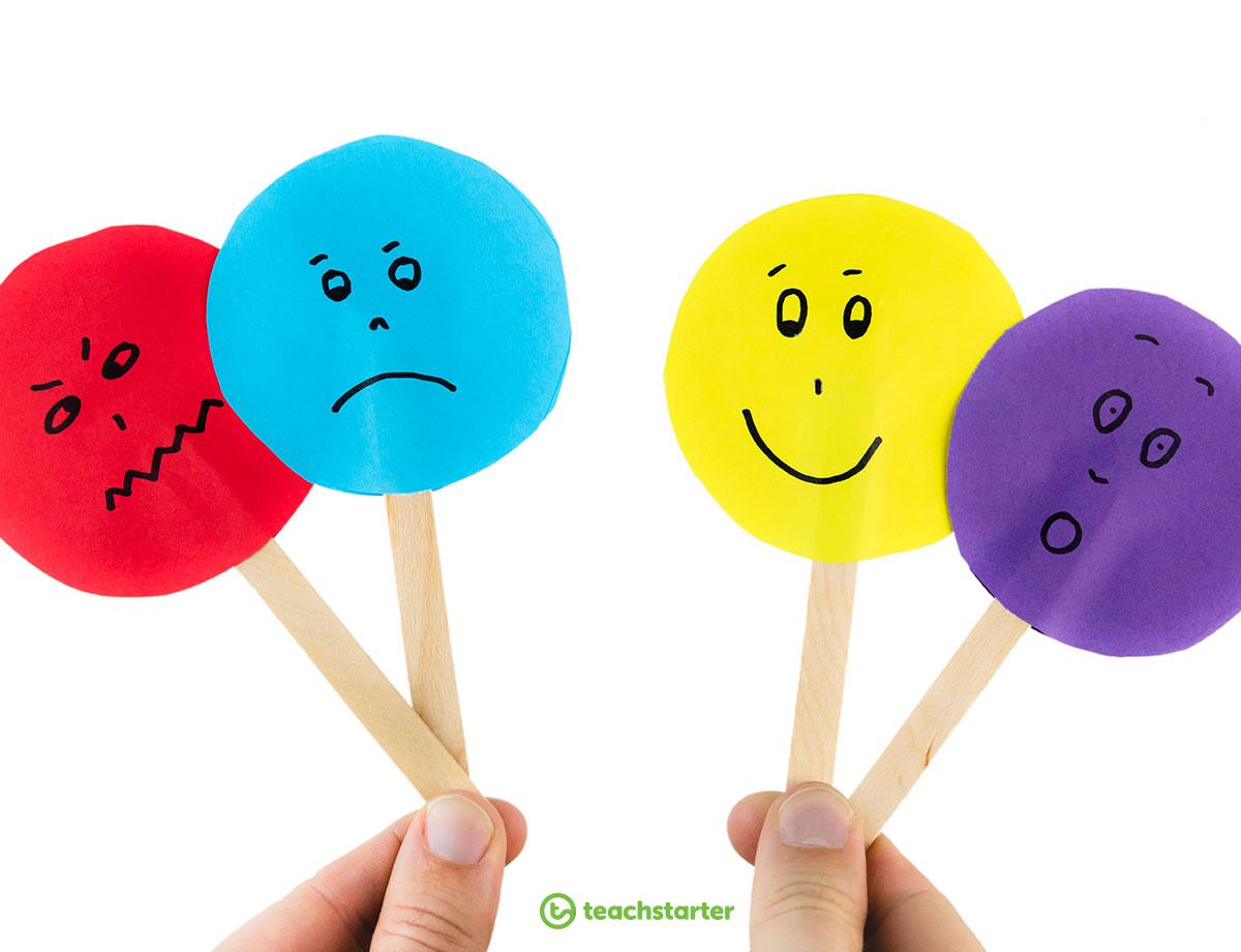Emotions Pop Sticks Activity