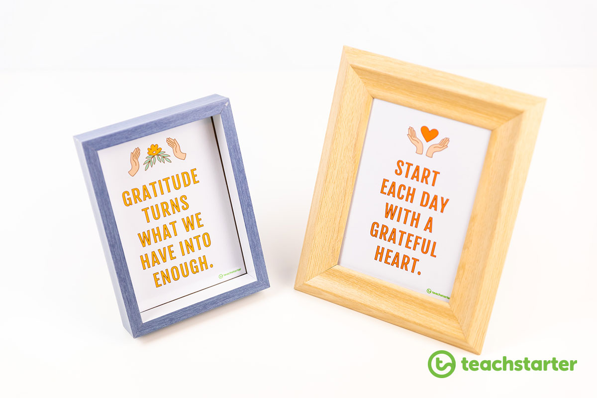 printable gratitude quote posters