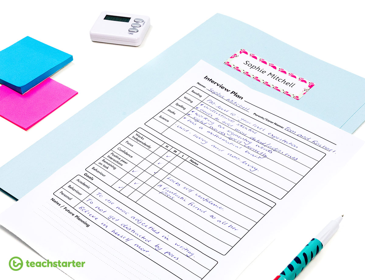Parent Teacher Interview Proforma