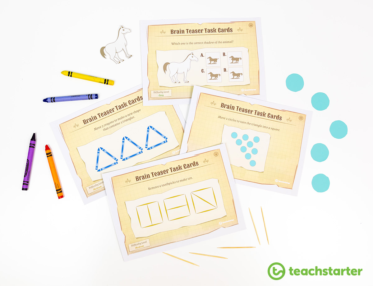 Visual Brain Teasers for Kids