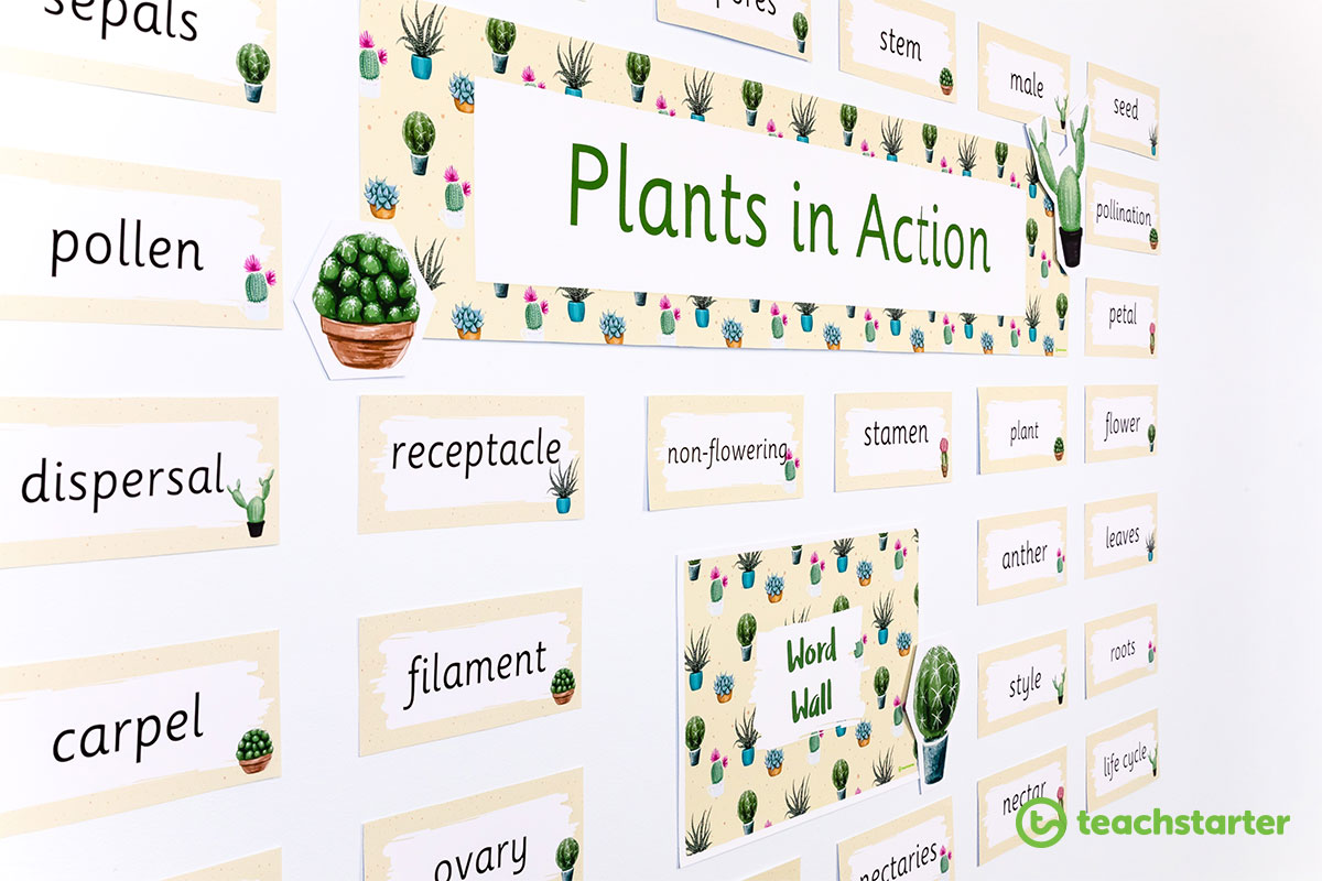 Cant Touch This Printable Cactus Classroom Theme Pack