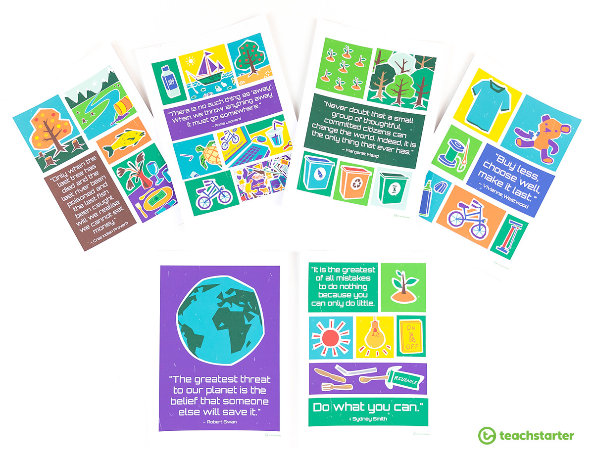 Sustainability Quote Posters