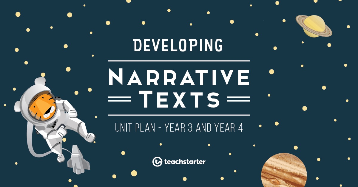 Teaching narrative writing activities