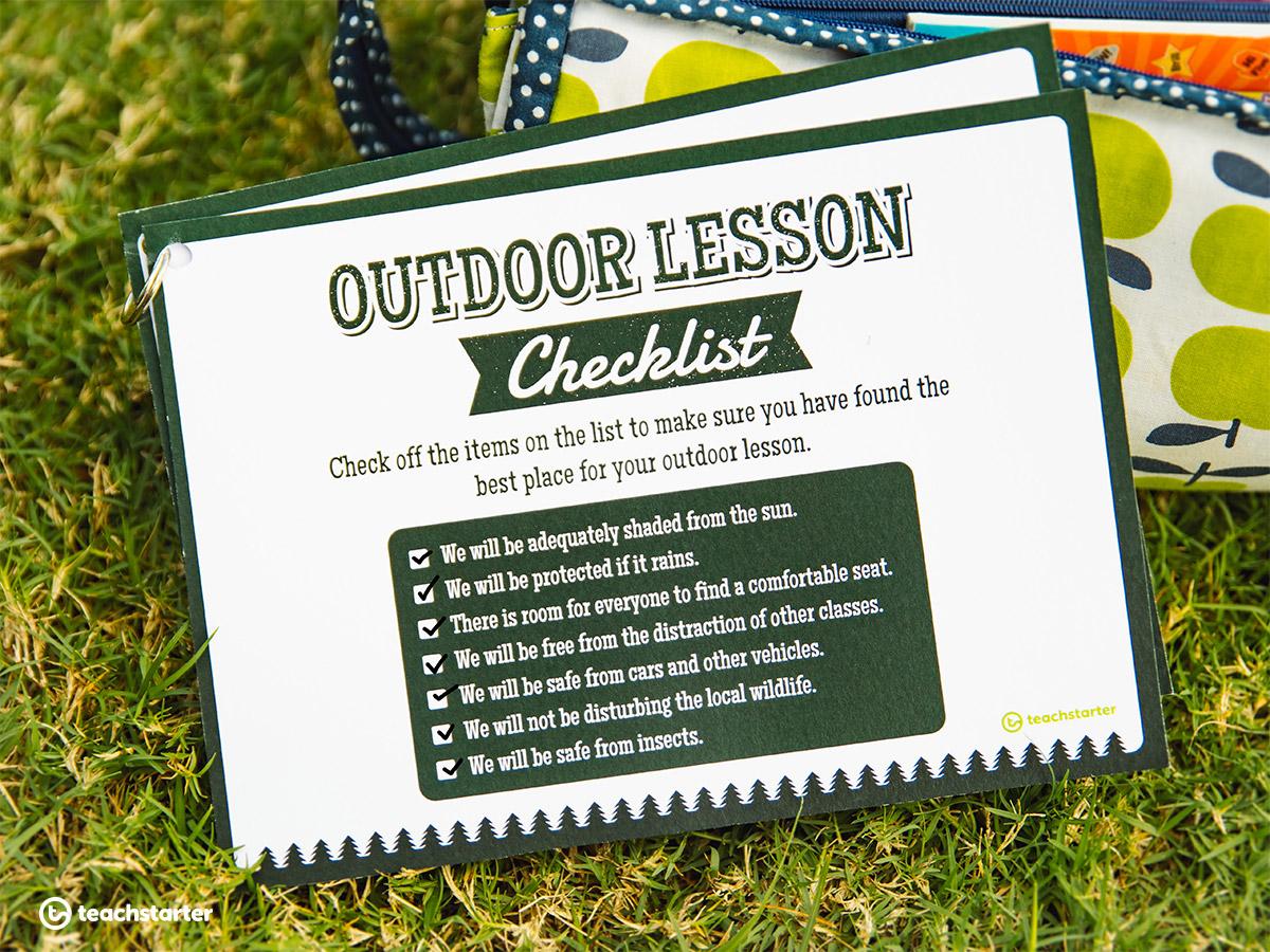Outdoor Classroom Checklist