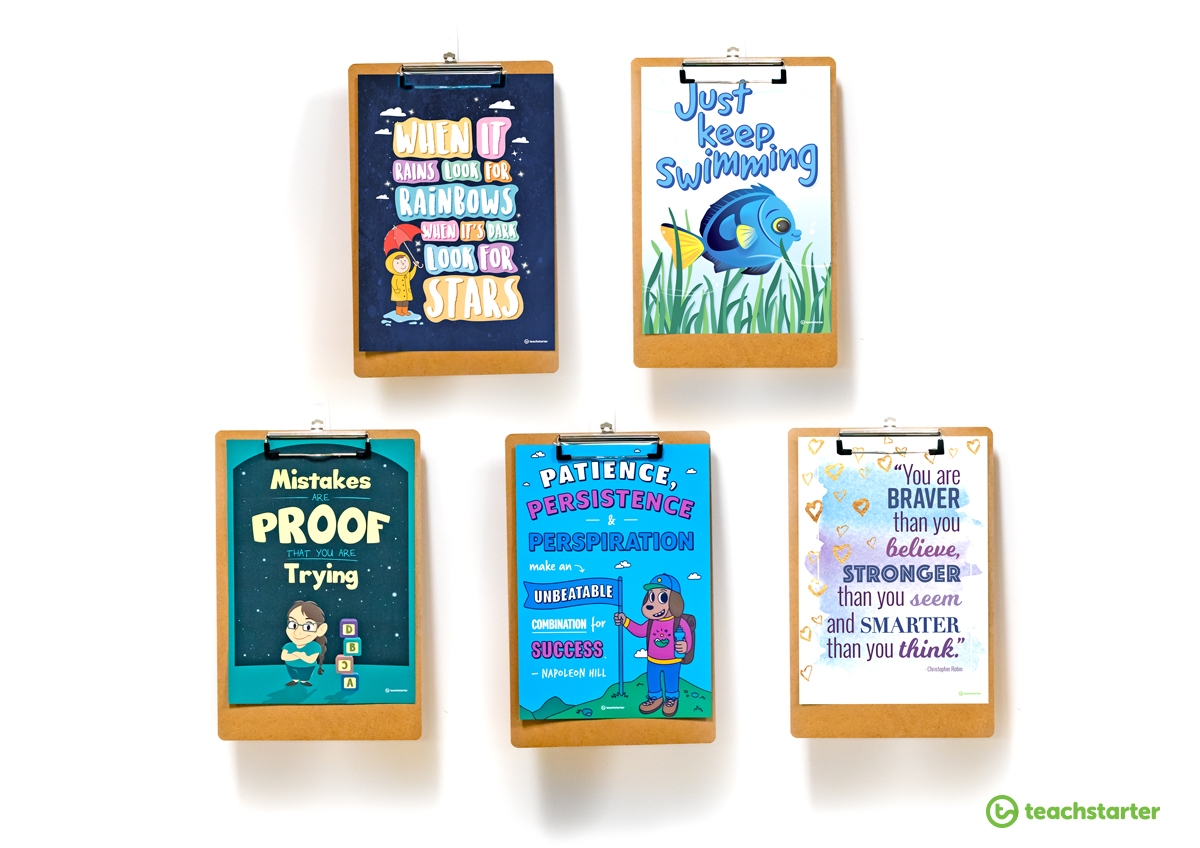Free teaching resources - Positivity Posters