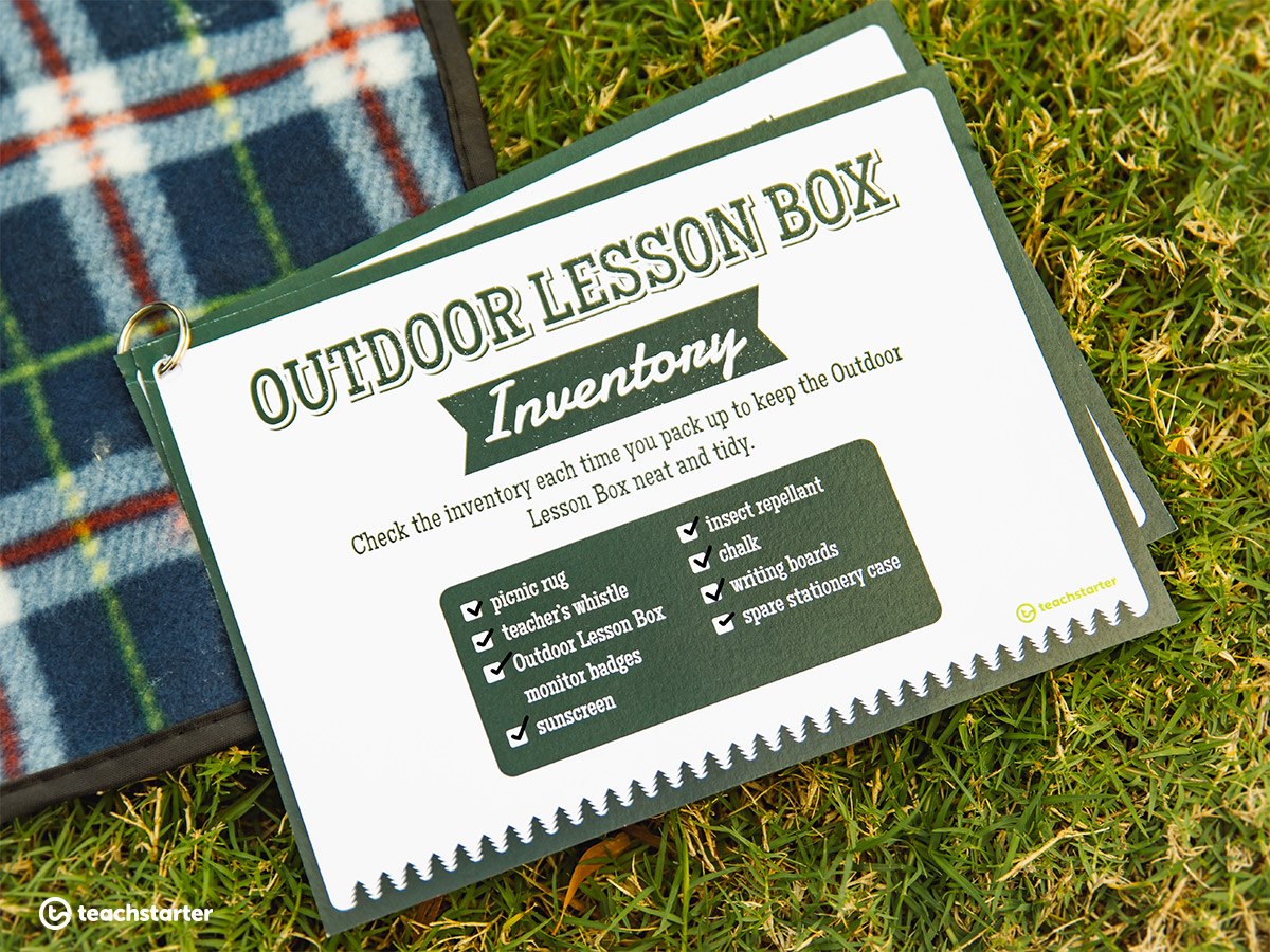 Outdoor Lesson Box Inventory List