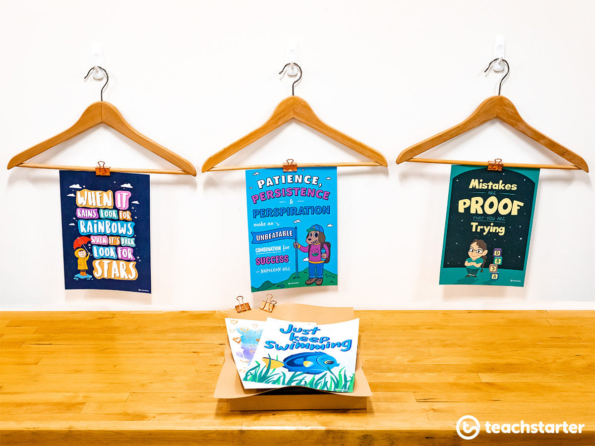 How to display positivity posters
