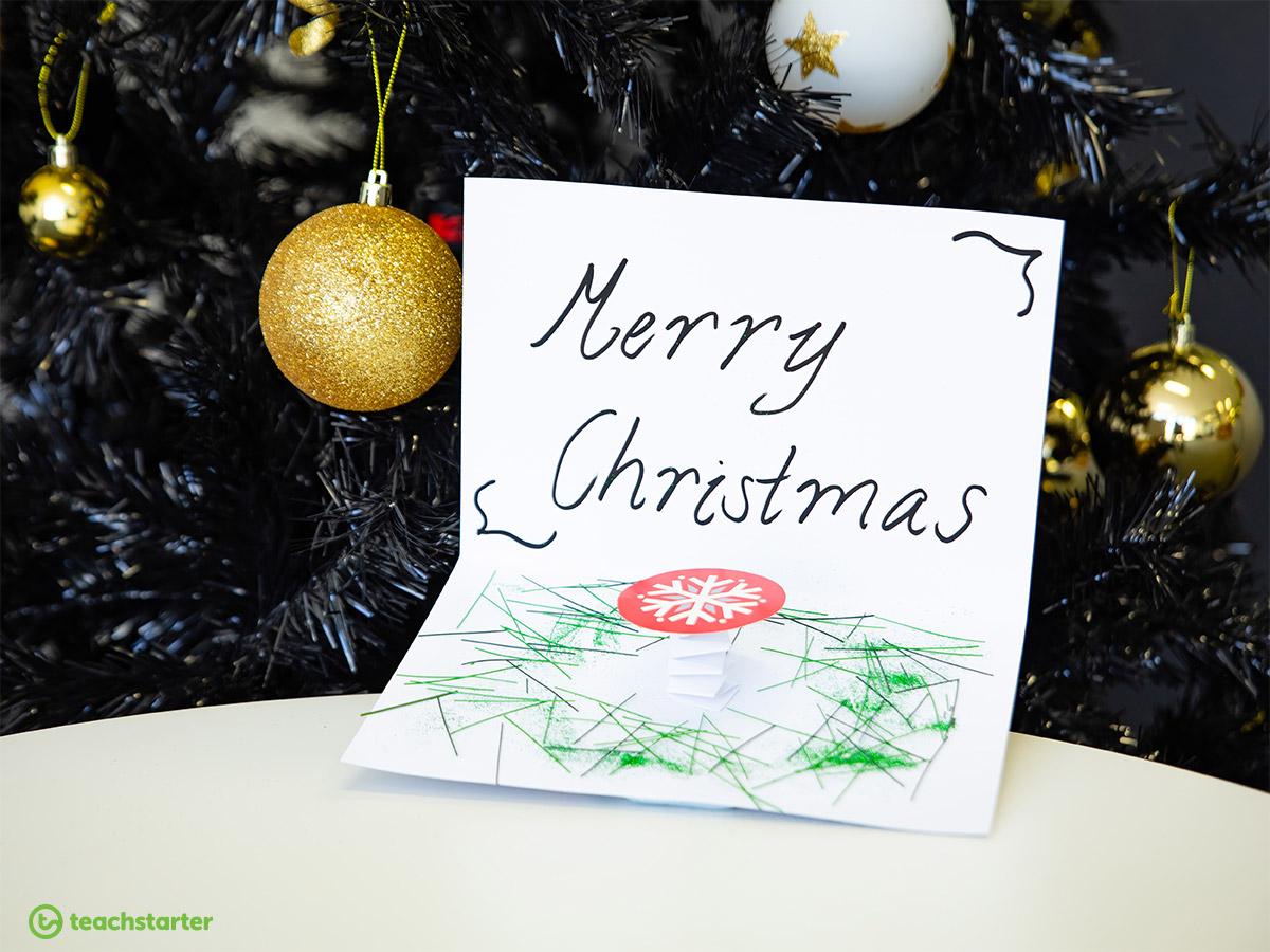 5 Crafty Christmas Card Ideas